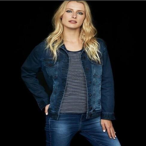 e719e6329cc4e JAQUETA JEANS FEMININA HERING H85C - Jeans - Delabela