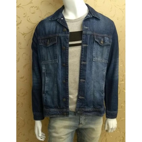 JAQUETA JEANS MASCULINA HERING H30V - Jeans