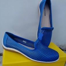 MOCASSIM EM COURO BOTTERO 247301 - Azul