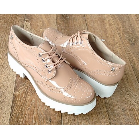 OXFORD FLATFORM BOTTERO 266001 - Bege