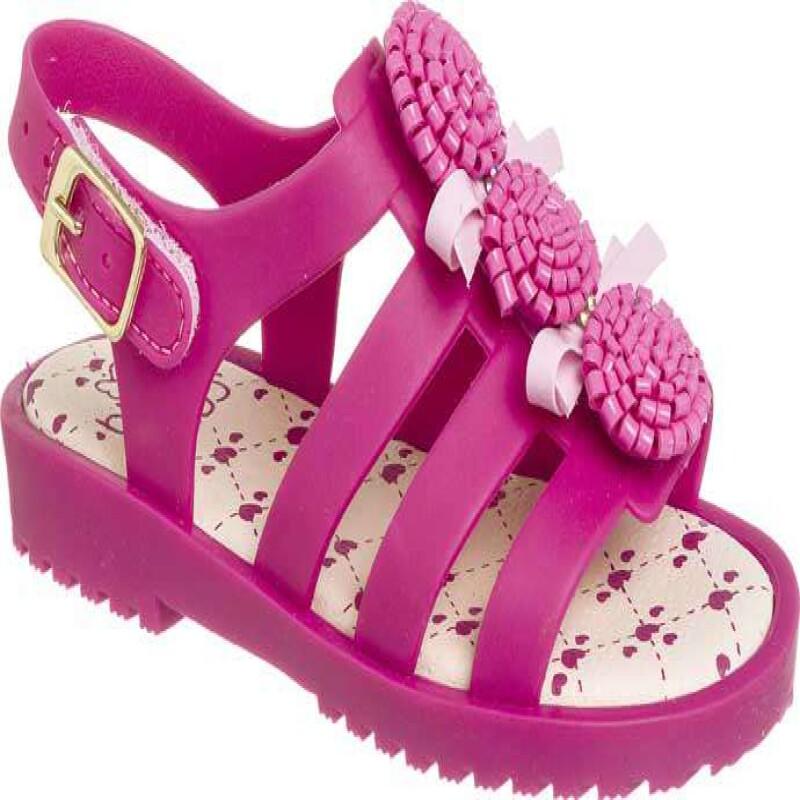 cec59f0c9b SANDALIA GOMA WORLD COLORS 021.038 - Pink - Delabela