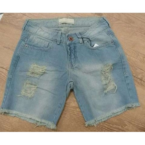 SHORTS BARRA DESFIADA DZARM ZB4P - Jeans claro