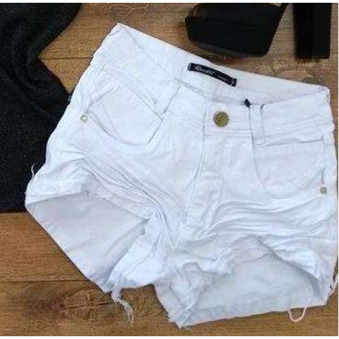 SHORTS JEANS BRANCO REVILLE 241 - Branco