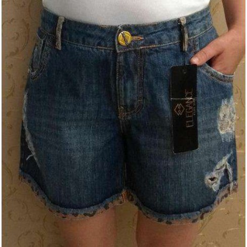 SHORTS JEANS DESTROYER ELEGANCE 17209 - Jeans