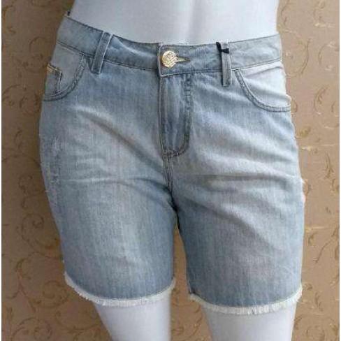 SHORTS JEANS ELEGANCE 17123 - Jeans claro