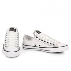 f8668ba539 TÊNIS CASUAL UNISSEX CONVERSE ALL STAR EUROPEAN LOW CT328 - Branco