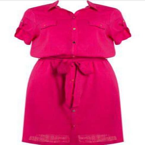 VESTIDO CHEMISIER SEIKI 380380 - Pink