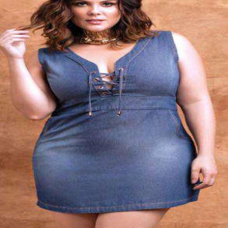 ce5ff777613 VESTIDO JEANS ALÇA LARGA ELEGANCE 05581 - Jeans - Delabela